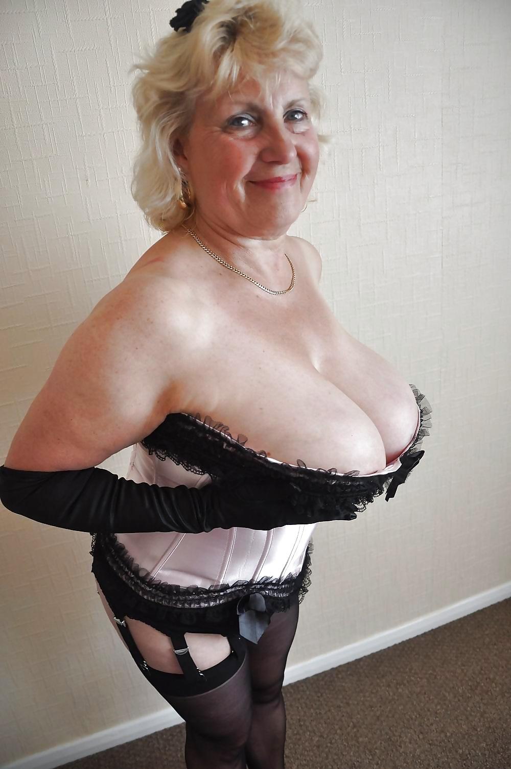 Older natural big boob tube sorry