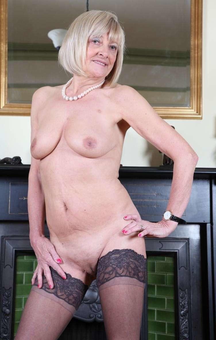 Older slut woman