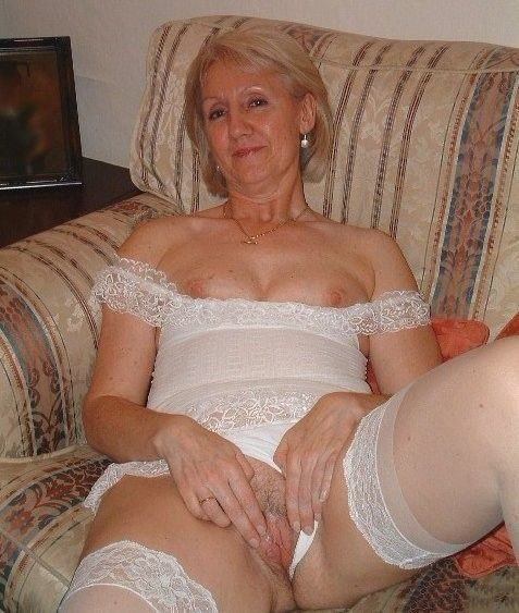 A horny mature woman