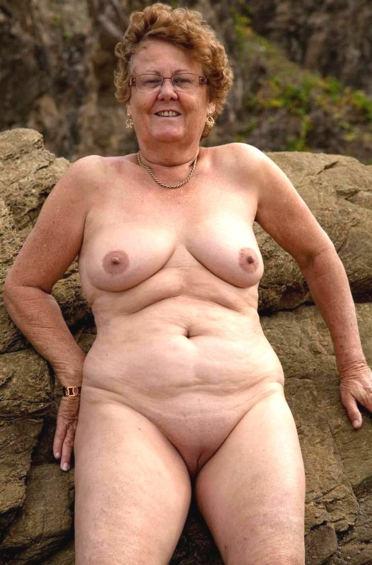 Apologise, can naked grandma shaved assured. Very