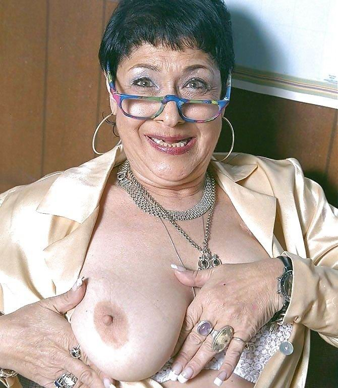 Mature nipples nude women