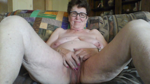 grannies spreading old Nude