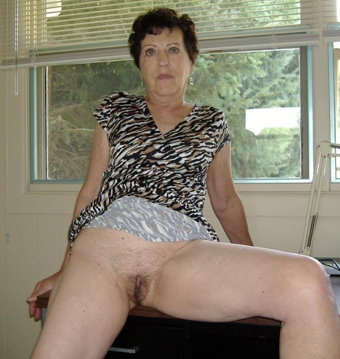 pics Bottomless granny