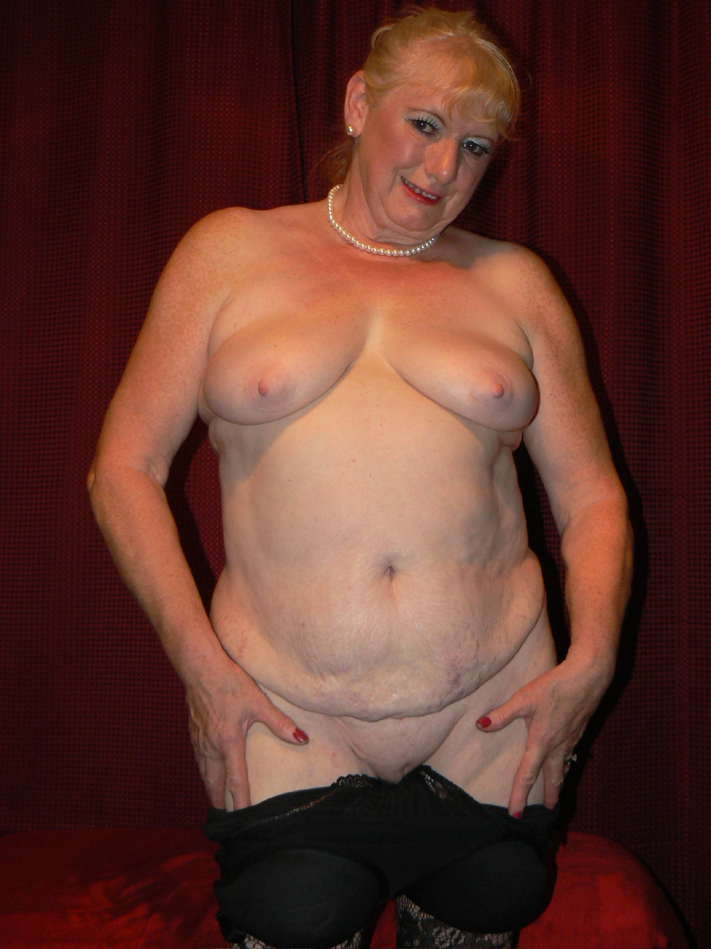 nanny nude Old standing