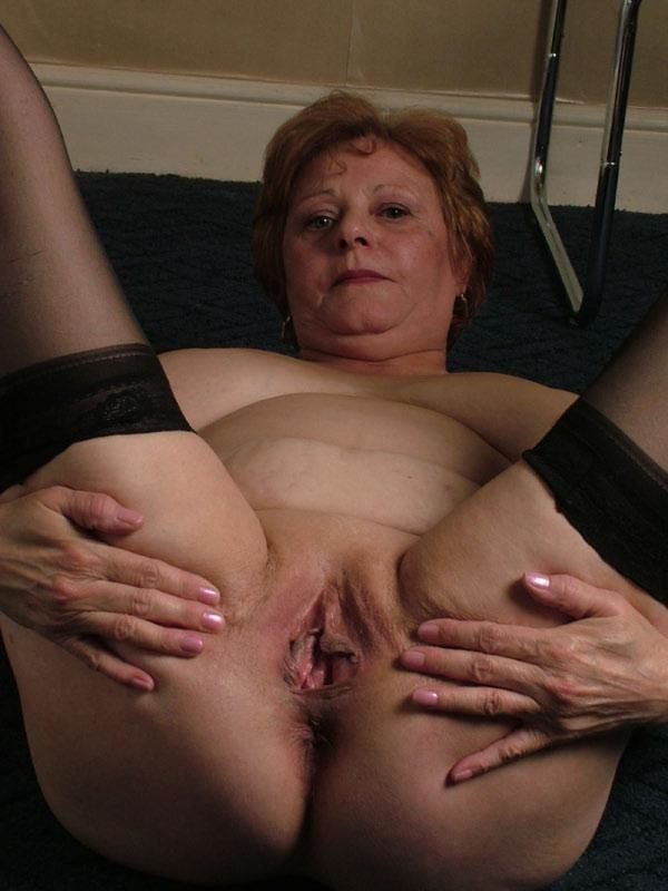 older thick naked woman