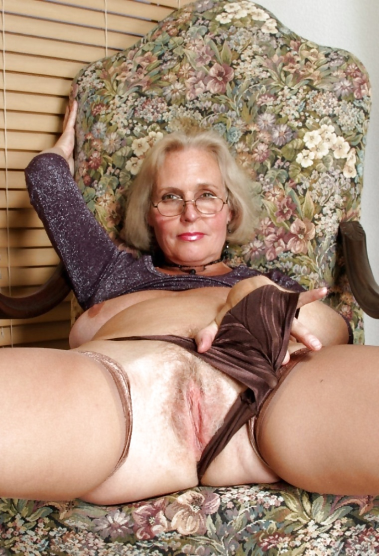 Gorgeous granny with old but still hot body 4