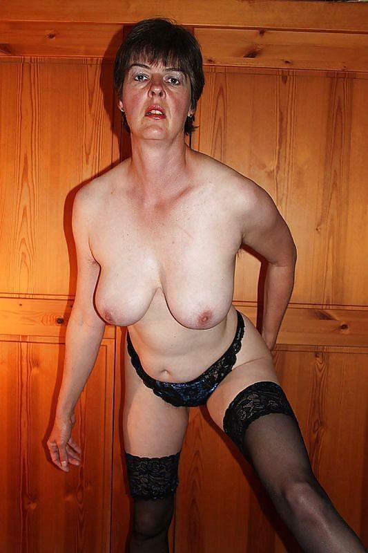 Mature big nipples hairy pussy