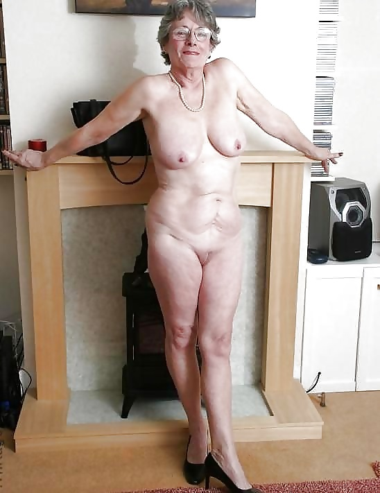 Body granny showing naked