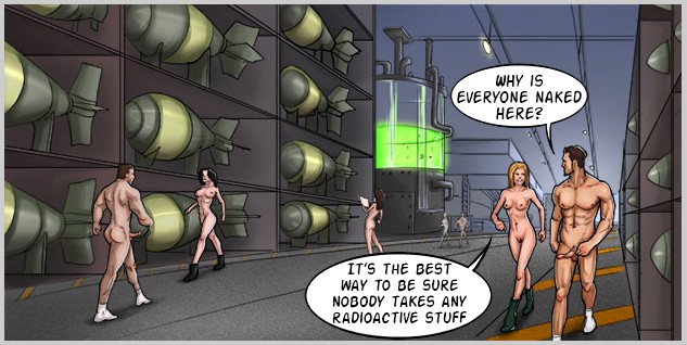 Mad sex comics with horny naked kinks dreaming for hardcore