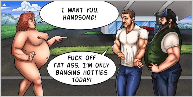 Bbw cartoon sex