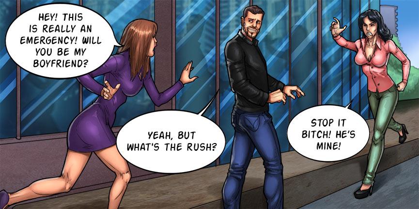 Hot sex porn comics silly!