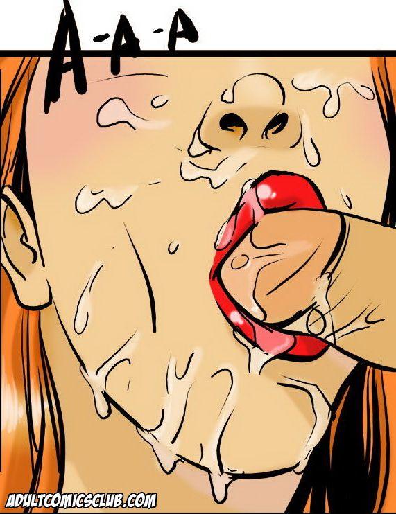 adult comic female blowjob to surive