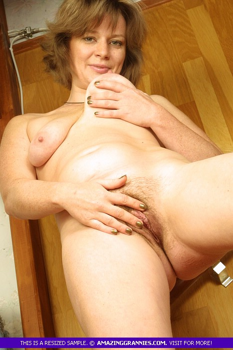 russian matures are the most natural babes and this granny has nice