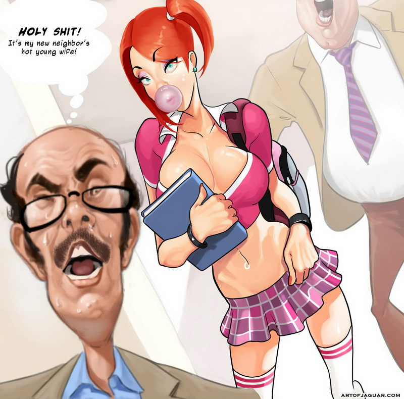 Teachers having sex with students porn toons