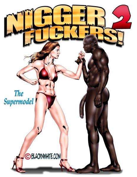 Hot white slut takes huge anal black bbc cock 7