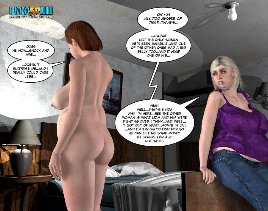 3d comic six gun sisters episode 5 7