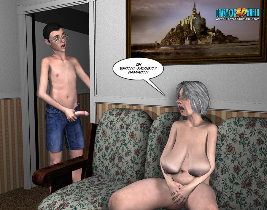 3d comic the chaperone episode 60 - 3 8