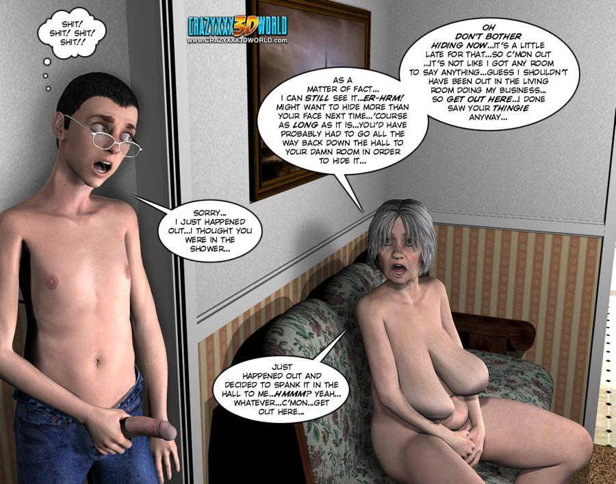 3d comic the chaperone episodes 108109 - 3 part 4