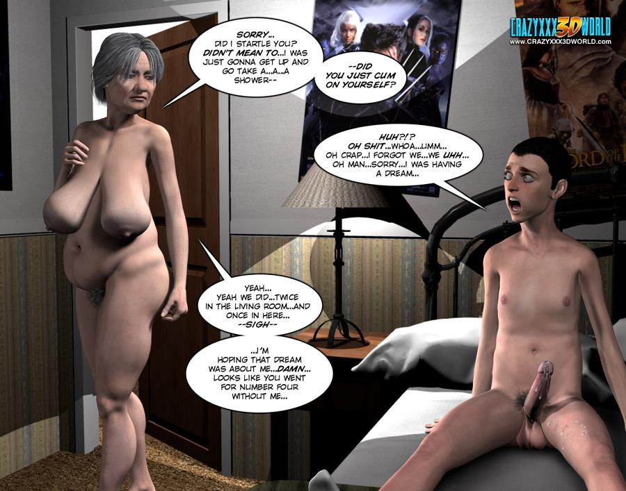3d comic the chaperone episode 50 4