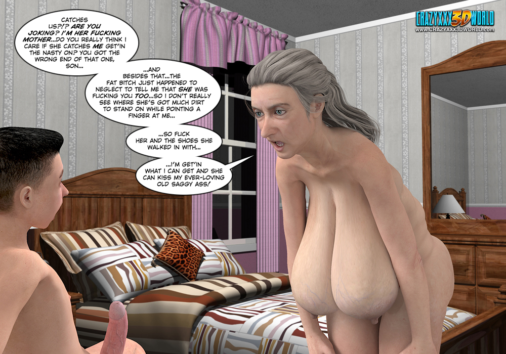 3d comic the chaperone episode 5 - 3 part 10