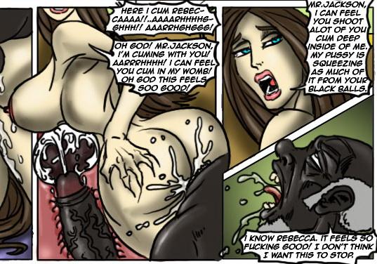 Horny wife enjoying big black cock