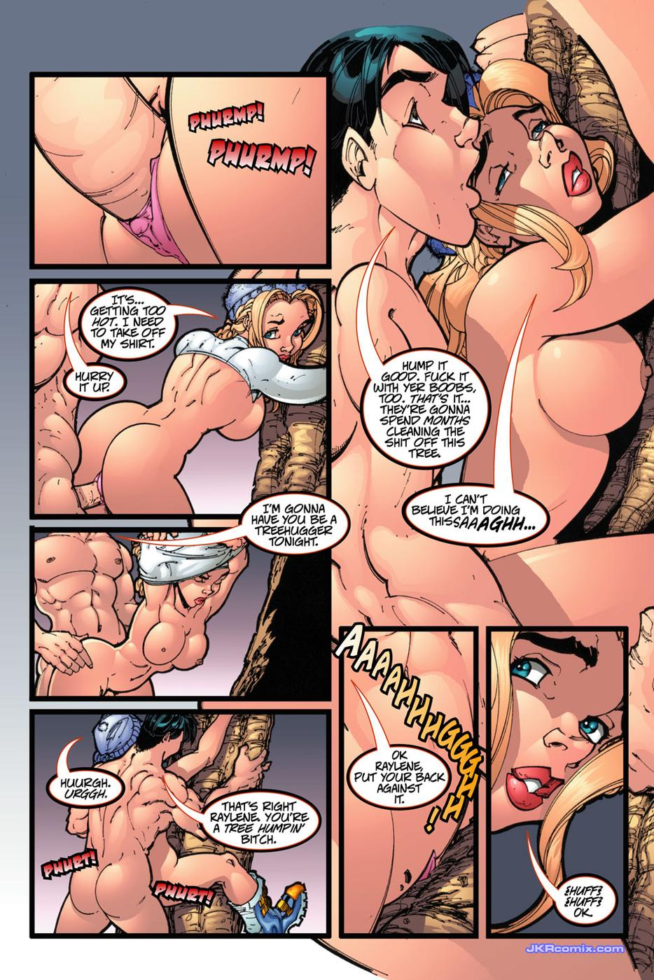 Adult cartoon comic erotic