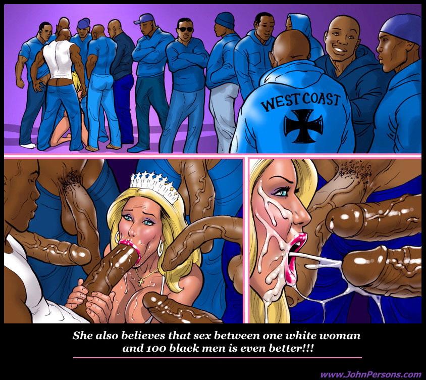 Interracial Cartoons Mix
