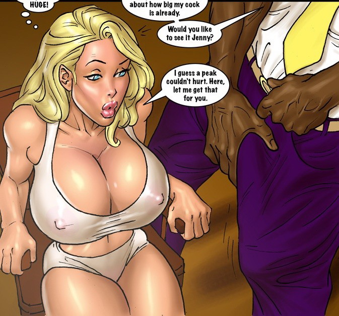 Comic book porn blonde big boobs message