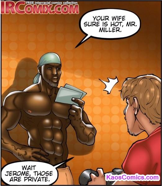 Interracial cartoon hot