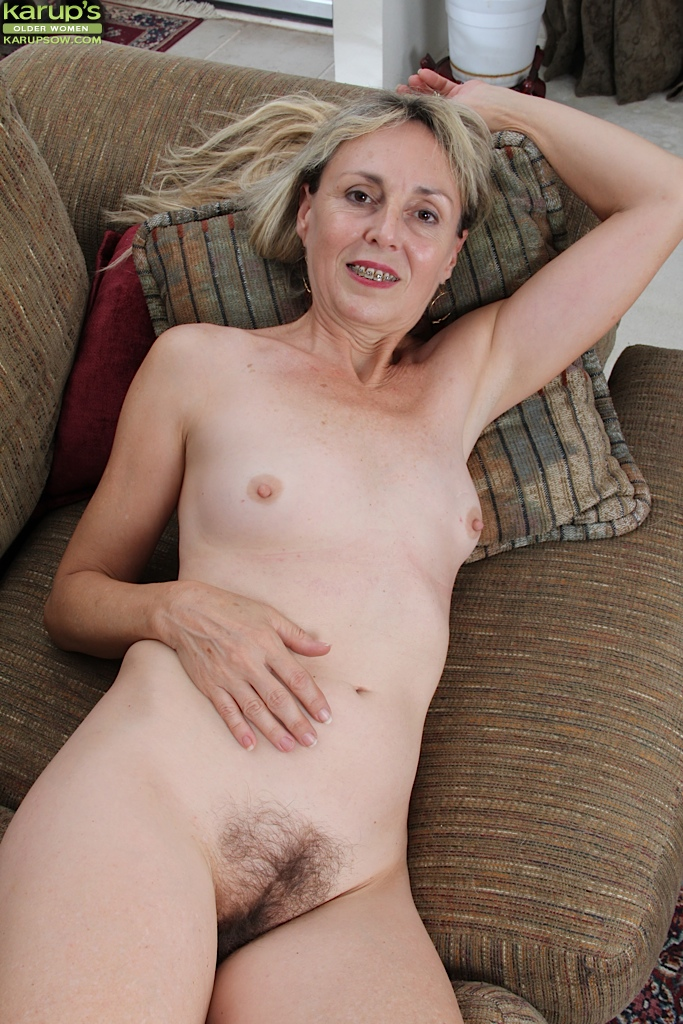 Hairy mature gals