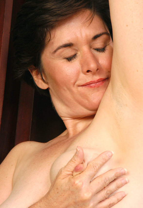 Experienced milf with a huge pair of tits fucks young stud 5