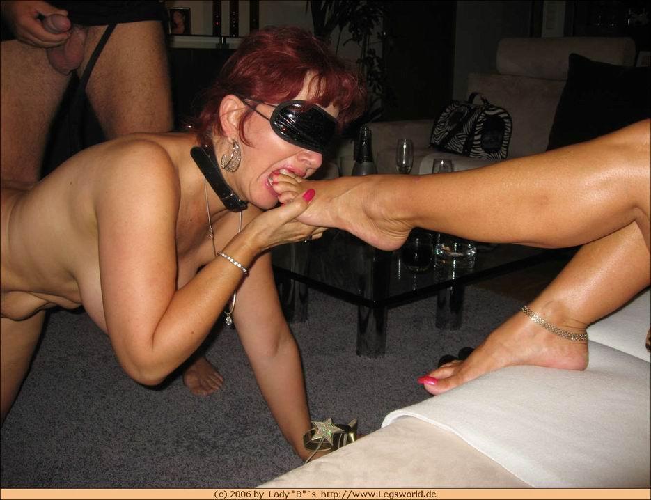 Mature lesbian slaves