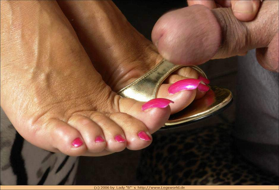 Free Lady Barbara Feet Porn Videos