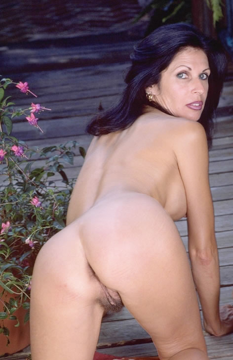 Even more Naked brunette english mature