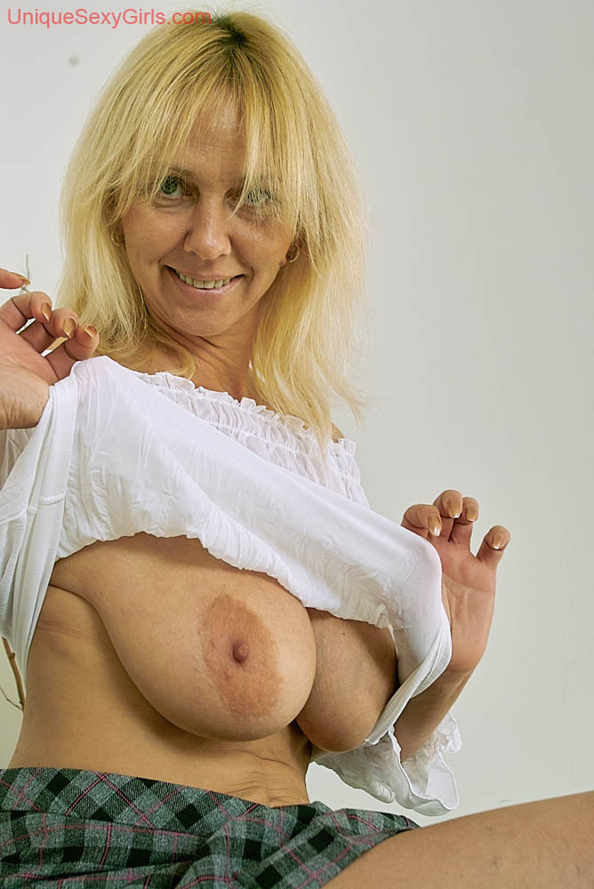 In lingerie satin silk woman