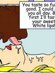 John Persons interracial comics. Black boy wants to be inside friend's mother