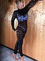 Lady Barbara loves nylons, stockings and pantyhose