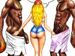 John Persons interracial erotic comics