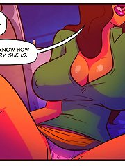 Car sex action with a busty chick in these badass sex comics