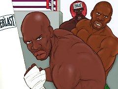 Boxing gym slut adult comics