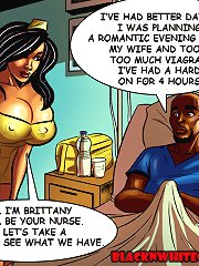 Interracial porn comics. I am Brittany and I`ll become your heathcare worker, let`s check it out what we should have